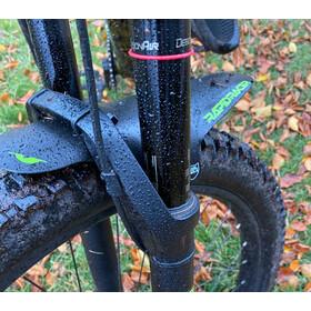 Rapid Racer Products EnduroGuard Mudguard Large, noir/vert